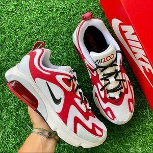 Nike Air Max 200 White / Black - Gym Red